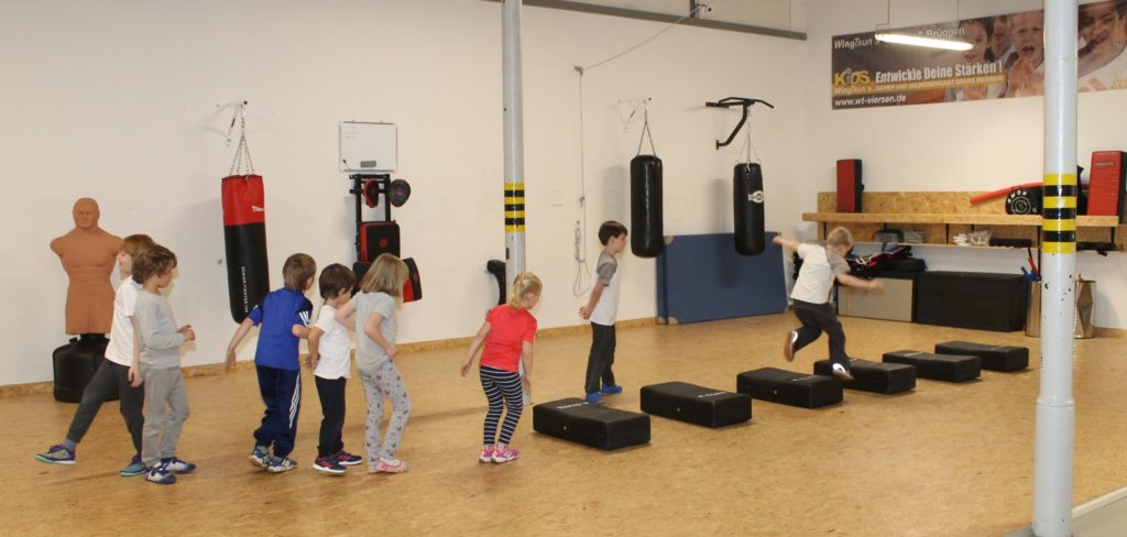 Kids WingTsun Training