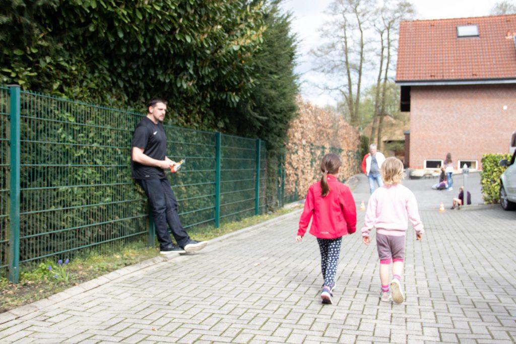 Kinder schützen beim WingTsun Nettetel
