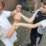 Kindern lernen mit WingTsun